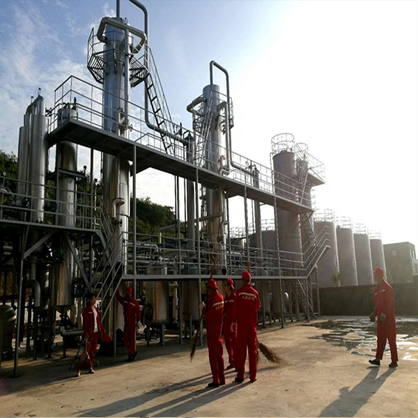 crude oil distillation plant with 200 tons