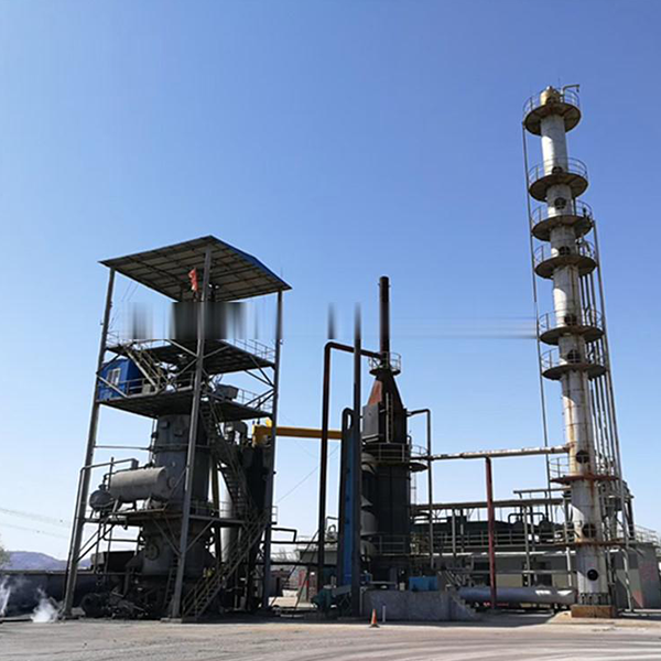 crude oil distillation plant with 50 tons