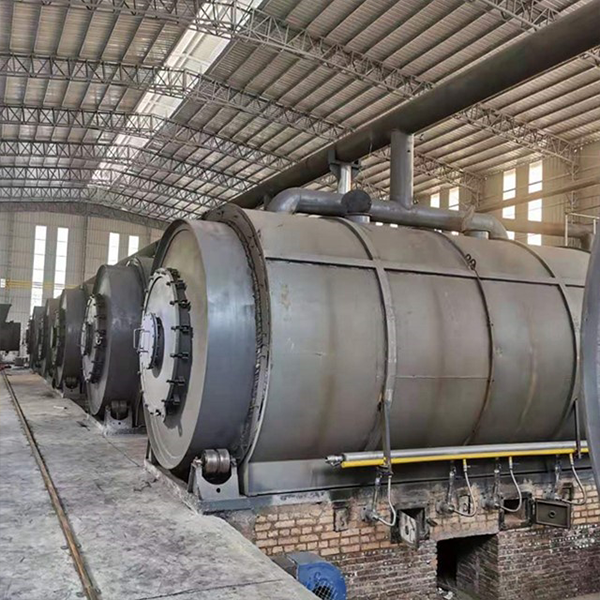batch-type tire  pyrolysis equipment with 50tons