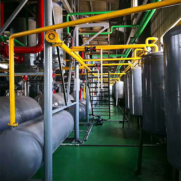 batch-type plastic pyrolysis equipment with 60 tons