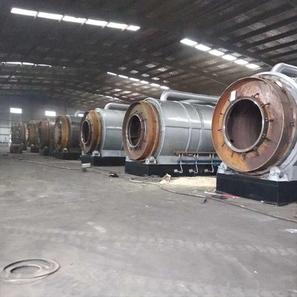 batch-type plastic or tire pyrolysis equipment with 100 tons