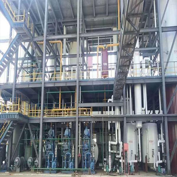 Bottom oil of ship or tank refining base oil