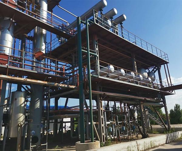 Distillation equipment case presentation