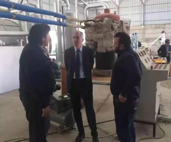 Turkey 50 tons of distillation equipment projects